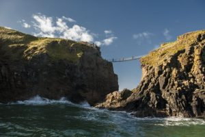 Carrick -a - rede rope bridge